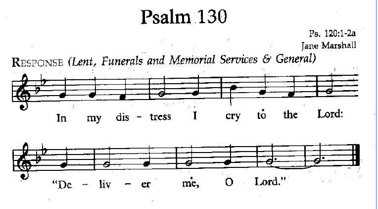 Choral Psalter Psalm 130